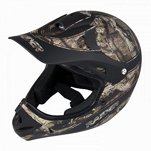 Raider Adult Ambush MX Helmet Mossy Oak Break Up Infinity X-Large