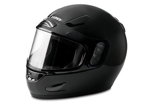 Raider Full-Face Snowmobile Helmet Black X-Large