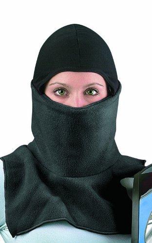 Raider Proclava Snowmobile Cold Weather Fleece Face Mask Black One Size
