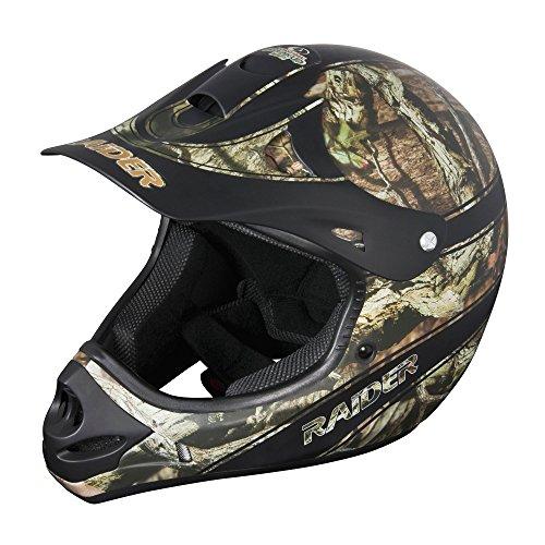 Raider Youth Ambush MX Helmet Mossy Oak Break Up Infinity Large