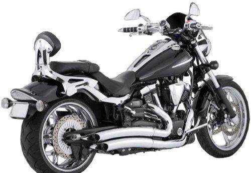 Vance Hines Chrome Big Radius 2-into-2 Exhaust System for Yamaha 2006-2012 Raider Models