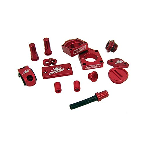 Outlaw Racing Complete Billet MX Motocross Kit Red KX250