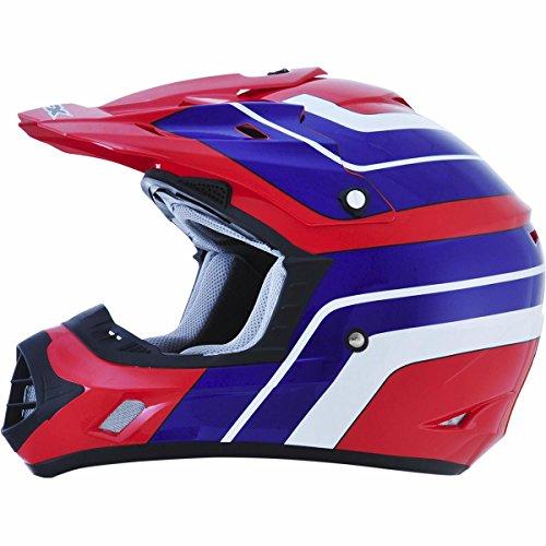 AFX FX-17 Vintage Honda Factor Mens Motocross Helmets - Small