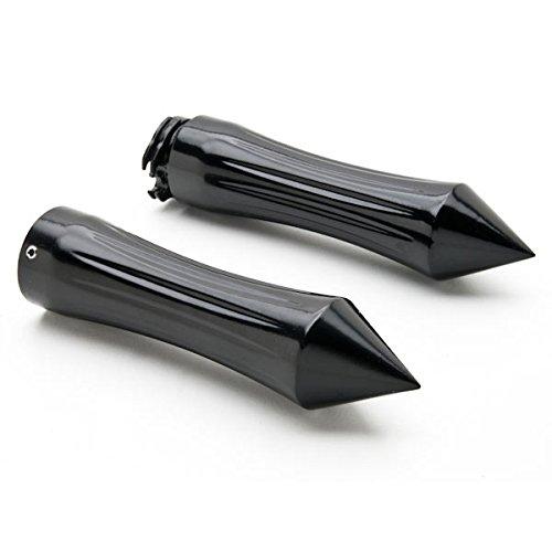 Krator Motorcycle Hand Grips 1 Inch Handlebar Bars Pair For Kawasaki Vulcan Classic Custom 900