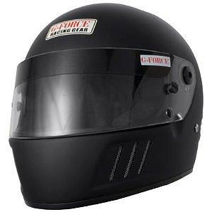 G-Force 3023XLGMB Pro Eliminator Matte Black X-Large SA10 Full Face Racing Helmet