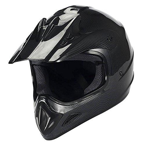 New Motocross ATV Dirt Bike BMX MX Adult Racing Helmet Carbon Fiber Color