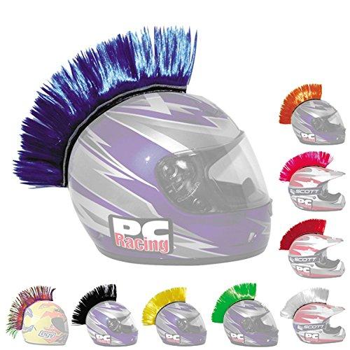 PC Racing Helmet Mohawk BLUE