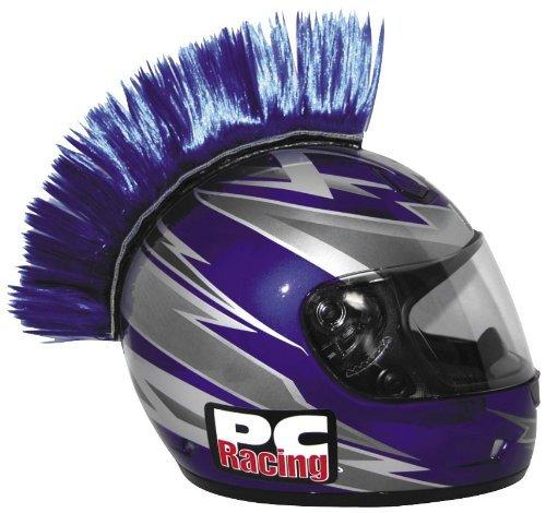 PC Racing Helmet Mohawk  Color Blue PCHMBLUE