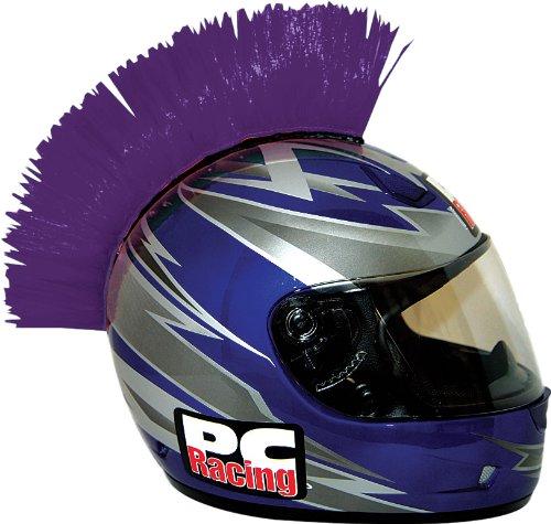 PC Racing Helmet Mohawk - Purple PCHMPURPLE