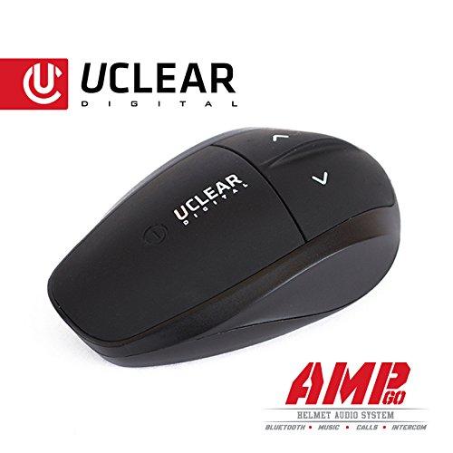 Uclear AMP Go Bluetooth Helmet Audio System Intercom
