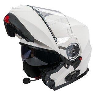 Bilt Techno 20 Sena Bluetooth Evolution Modular Helmet - MD - Matte White