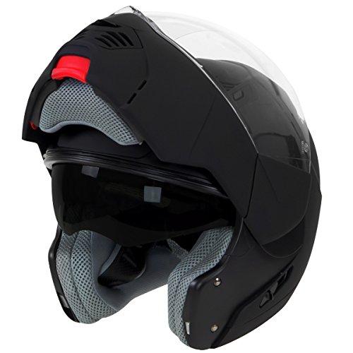 Hawk ST-1197 InFlux Black 2 in 1 Modular Helmet - X-Large