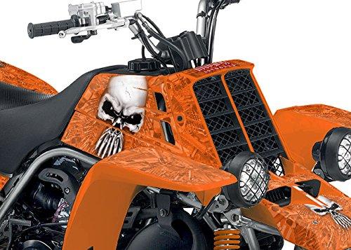 Yamaha Banshee Graphics - Arsenal Design - Orange