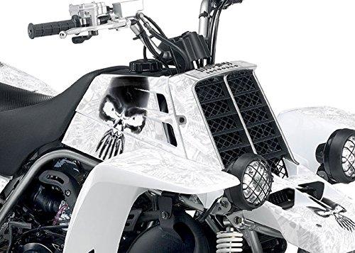 Yamaha Banshee Graphics - Arsenal Design - White