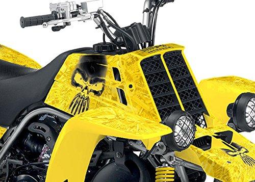 Yamaha Banshee Graphics - Arsenal Design - Yellow