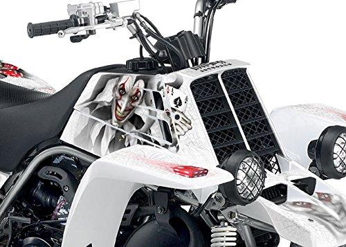 Yamaha Banshee Graphics Kit - The Joker - White Background Black White Joker