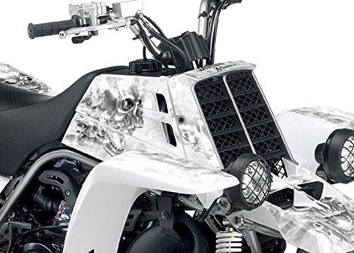Yamaha Banshee Graphics - White NITRO Design