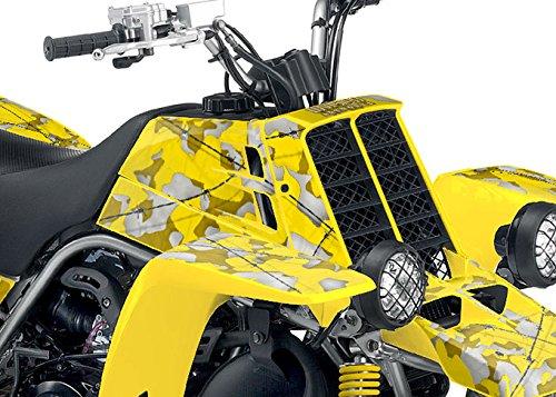 Yamaha Banshee Graphics - Yellow Camo Design