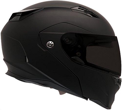Bell Revolver Evo Modular Motorcycle Helmet Solid Matte Black X-Large