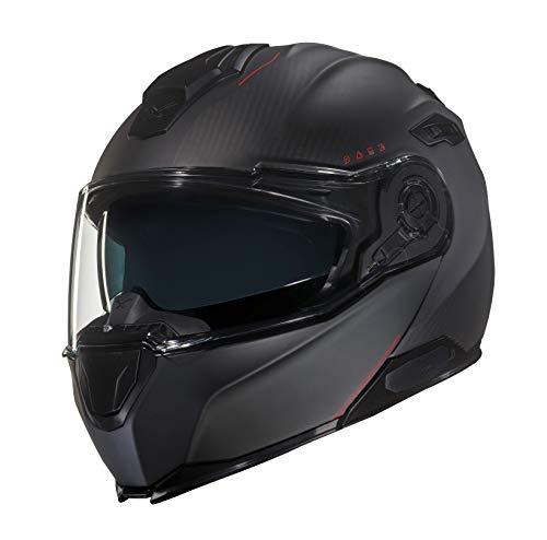 NEXX XVilitur Carbon Zero Matte Black Carbon FIber Modular Motorcycle Helmet M