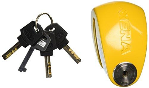 Xena XX-10 Disc Lock With Alarm - Yellow