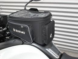 SUZUKI HAYABUSA TU250 GW250 GSX-R1000 GSX-R750 GSXR-600 BLACK EXPANDABLE TANK BAG 990D0-04171