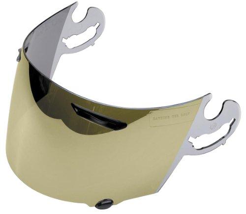 Arai Helmets Faceshield - Gold Mirror 1370 031860