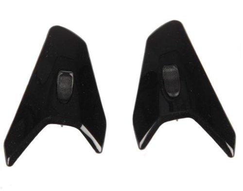 Arai Helmets TDF Duct-3 Vent Set for RX-Q Helmets - Pearl Black 4972