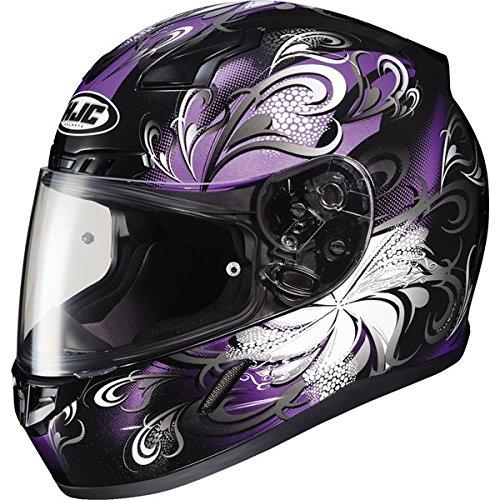 HJC Helmets Unisex-Adult Full-Face-Helmet-Style CL-17 Cosmos Helmet MC-11 BlackPurple X-Large