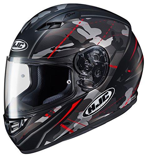 HJC Unisex-Adult Full Face CS-R3 Songtan Helmet MC-1SF Medium