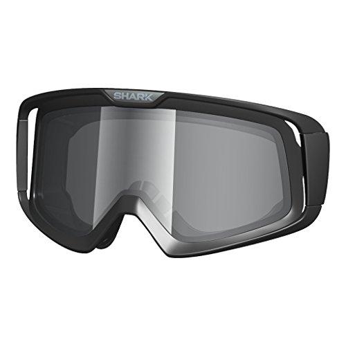 Original SHARK Helmets Mirrored Iridium Chrome Goggles Double Lens for SHARK DRAKEXPLORE-RVANCORE  SX2 Helmets