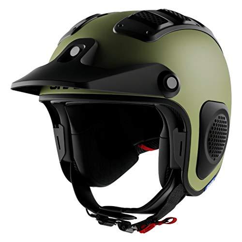 SHARK Helmets ATV-DRAK Blank Matte for ATV Riders