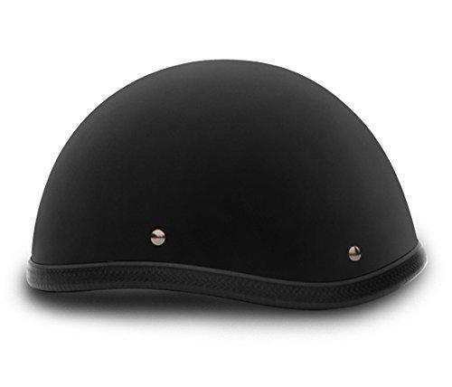 Smokey Dull Black Novelty Motorcycle Helmet Size XS X-Small