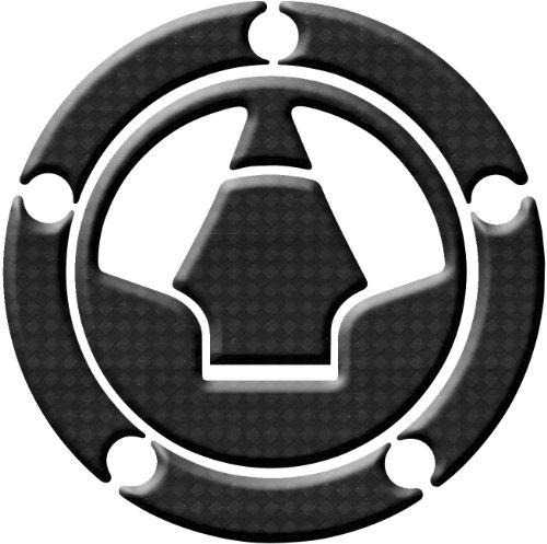 Keiti Gas Cap ProtectorKawasaki - Carbon Fiber - 5 Bolt T3 RKW-518CF