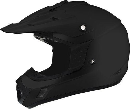 THH TX-12 MOTORCROSS ADULT HELMET MATTE BLACK XL