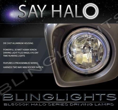 Honda GoldWing GL1800 GL 1800 Gold Wing 4300K Angel Eye Fog Driving Lamps Kit