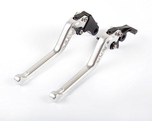 Tencasi Silver 3D Long Brake Clutch Levers for HONDA VFR 1200F 2010 2011 2012 2013 2014 2015 2016