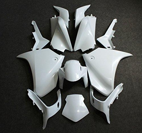 ZXMOTO Unpainted Motorbike Bodywork Fairing Kit for Honda VFR 1200 2010-2013 2012 ABS Injection
