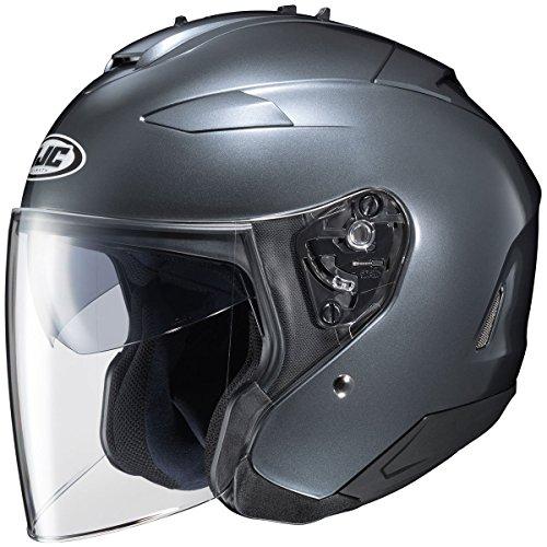 HJC Solid Adult IS-33 II Cruiser Motorcycle Helmet - Anthracite Medium