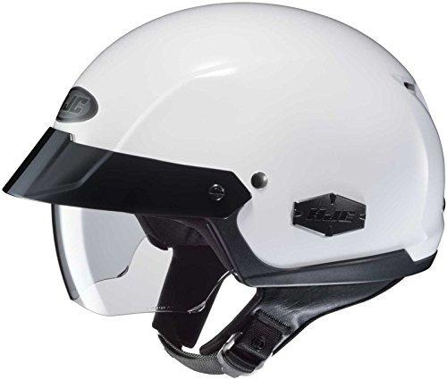 HJC Solid Adult IS-Cruiser Harley Cruiser Motorcycle Helmet - WhiteMedium