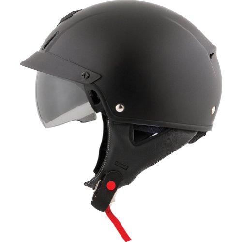 Scorpion Solid EXO-C110 Cruiser Motorcycle Helmet - Matte BlackX-Large
