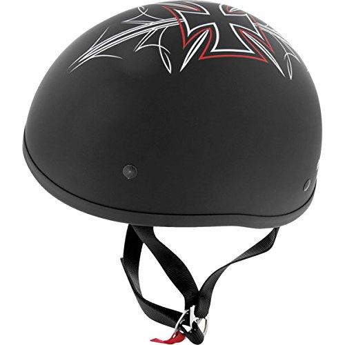 Skid Lid Helmets Original Street Rod Helmet  Size Lg Primary Color Black Distinct Name Flat Black Street Rod Helmet Category Street Helmet Type Half Helmets Gender MensUnisex XF64-6703