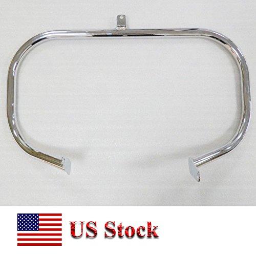 US STOCK Motorcycle Highway Chrome Steel Engine Guard Crash Bar Frame Protection For 2004-2013 Honda Shadow Aero VT 750 VT750 750C VT400 VT750C 2005 2006 2007 2008 2009 2010 2011 2012 04-13