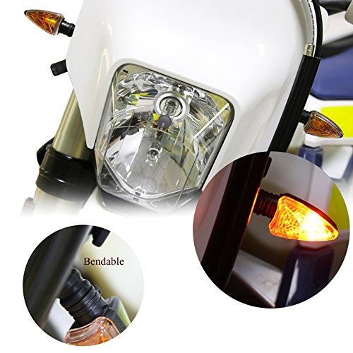 Motorcycle 2PCS Turn Signal Light Blinker Indicator Light Lamp 12V Amber Color for Kawasaki Z1000 Z750 BMW KTM Aprilia Ducati Honda Yamaha Suzuki  Street bikes  Sport Bikes Dual Sport  Dirt Bike