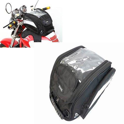 Motorcycle Black Outdoor Multifunct Enduro Magnetic Gas Oil Tank Bag Back Pack For Honda Suzuki Kawasaki Yamaha Harley BMW Motorcycle Dual Sport Dirt Bike