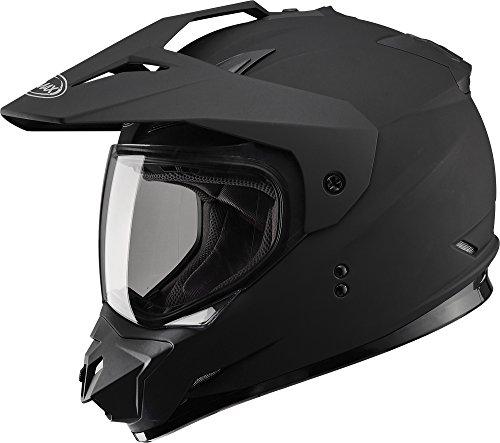Gmax G5115075 Dual Sport Solid Helmet
