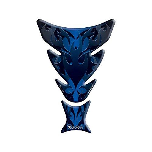 KEITI TANK PAD FLAMES BLUE 623-0018