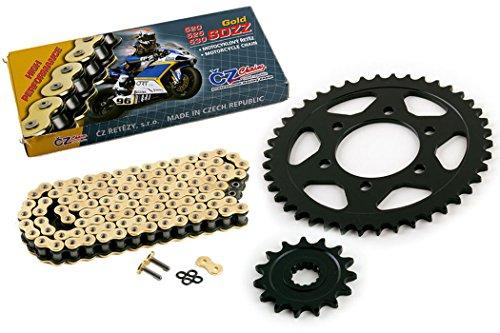 2012 Kawasaki ZR1000 Z1000 CZ SDZZ Gold X Ring Chain Sprocket 1542 122L