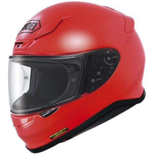Shoei Metallic RF-1200 Street Racing Motorcycle Helmet - Shine Red  Medium