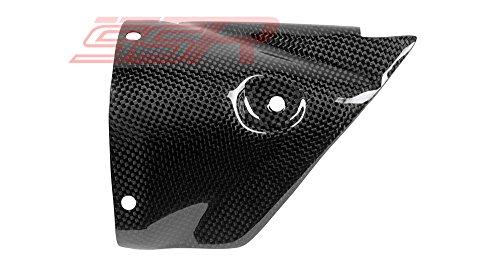 2006-2007 Yamaha YZF-R6 Carbon Fiber Fibre Exhaust Heat Shield Guard Fairing Cover